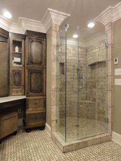 Old World Stone Imports Wood Look Tile Spa Shower Www