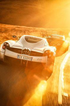 Pagani Huayra & Lotus Exige V6