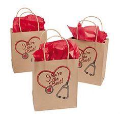 Nurse Party Supplies, Nurse Craft Bags, Doctor Party Supplies