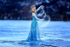 Elsa of #Disney's Frozen in real life. Photo by Katie Andelman Garner.