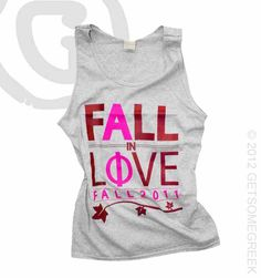Alpha Phi Fall In Love Tank
