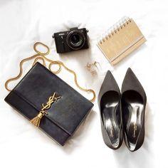 .@anoukyve | Today's essies #lfw #saintlaurent #gianvitorossi #fashionweek | Webstagram