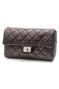 6b7899b746b Chanel Black Quilted Nylon Signature