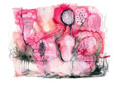 Archival Abstract Watercolor Print