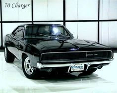 70 Charger there's just something about a muscle car.