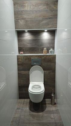 dreamy wc toilet in bathroom ideas for you waaaw 45 Dreamy wc toilet in bathroom ideas for you waaaw 45 badezimmerideen Small Downstairs Toilet, Small Toilet Room, Guest Toilet, Small Bathroom, Bathroom Ideas, Half Bathrooms, Cloakroom Ideas, Bathroom Crafts, Bathroom Renovations