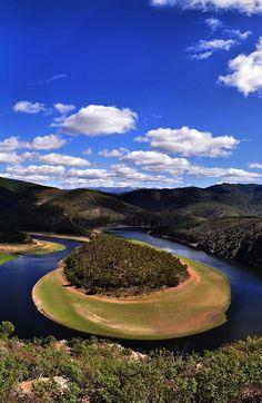 Meandro Melero en Riomalo de Abajo, Extremadura, España. #meandro #españa #viajar #rios