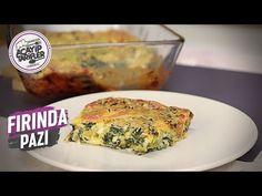 FIRINDA KREMALI PAZI | NEFİS BİR ARA SICAK | ACAYİP TARİFLER - YouTube Turkish Recipes, Quiche, Side Dishes, Food And Drink, Keto, Chicken, Breakfast, Youtube, Cookies