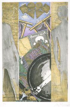 Jasper Johns, 'The Seasons (Fall)' 1987