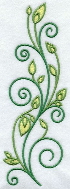 Embroidery Designs at Embroidery Library! -Machine Embroidery Designs at Embroidery Library! Sewing Machine Embroidery, Types Of Embroidery, Folk Embroidery, Silk Ribbon Embroidery, Embroidery Stitches, Embroidery Works, Flower Embroidery, Embroidery Ideas, Embroidery Techniques