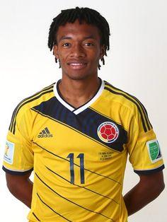 Las fotos oficiales de #Colombia #Fifa #Brasil2014 - Juan Cuadrado