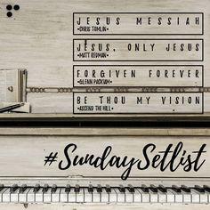 (7) #SundaySetList hashtag on Twitter