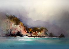 John Lovett Cinque Terre Watercolor