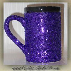 15oz GLITTER COFFEE MUGS, coffee mug, cute coffee cups, unique coffee mug, girly coffee cup, funny quotes on mugs