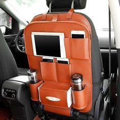 Kids Car Organizer Stroller Travel Bag Multifunction Auto Car Back Seat Organizer Vw Bus, Vw T5 Camper, Volkswagen Routan, Camper Life, Camping Vintage, Vintage Rv, Vintage Campers, Vintage Trailers, Camping Equipment