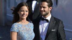 Шведский принц Карл Филипп и его невеста София.