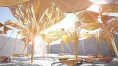 Biomorphic Umbrellas