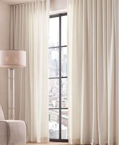 "Dokonalé závěsy a záclony versus ""hadr na okně"" — Ambience Design Home Room Design, House Design, House Rooms, Curtains, Ideas, Home Decor, Blinds, Decoration Home, Room Decor"