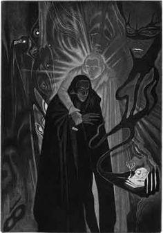Carlo Farnetti - Illustrations to Poe's stories - William Wilson