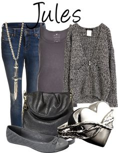 """Jules"" by fofandoms ❤ liked on Polyvore"