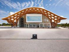 Centre Pompidou à Metz, France