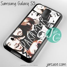 Paramore Band Phone case for samsung galaxy S3/S4/S5