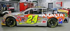 Jeff Gordon's Final Paint Scheme of his colorful career for Homestead Miami #FinalRide#Re24ect