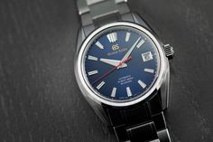 Grand Seiko 60th Anniversary Collection with Blue-Dialed SLGH003 Limited Edition Stainless Steel Bracelet, Stainless Steel Case, Modern Watches, 60th Anniversary, Seiko Watches, Link Bracelets, Omega Watch, Blue, Accessories