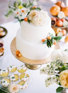 Photography : Rebecca Yale Photography | Catering : Haute Chef LA | Venue : Private Estate | Floral Design : Emblem Flowers Read More on SMP: http://www.stylemepretty.com/2015/08/27/fashion-to-table-citrus-inspired-wedding-details-with-late-afternoon/