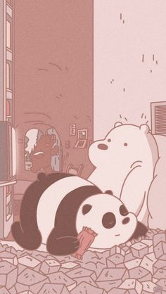 we bare bears wallpaper Cute Pastel Wallpaper, Cute Emoji Wallpaper, Cartoon Wallpaper Iphone, Soft Wallpaper, Bear Wallpaper, Cute Disney Wallpaper, Aesthetic Pastel Wallpaper, Cute Wallpaper Backgrounds, Cute Cartoon Wallpapers