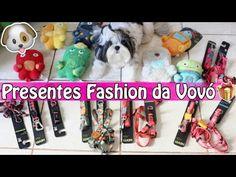 Compras Fashion Para as Meninas (Shih Tzu)   Presentes da Vovó (Zee Dog)...