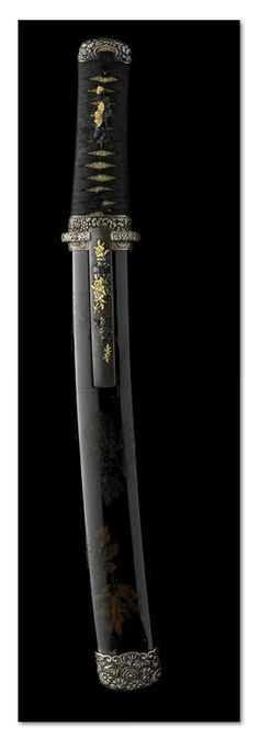 A silver-mounted shinshinto tanto - The blade by Nobuhide, dated 1860