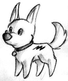 Cute Bolt sketch.
