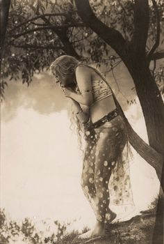Gertrude Hoffman in a promo photo Sumurun by Frank C Bangs c.1917