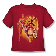 The Flash - Collage Kids T-Shirt