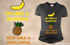 Maternity Shirt Goes In A Like Banana Out Like by maternitytees, $28.99