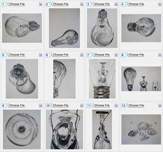 AP Art Concentration Examples   AP Studio Art Concentration: Incandescent Light Bulbs on Behance