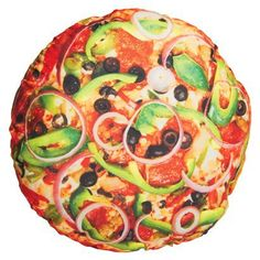Pizza pillow from target. $17.99