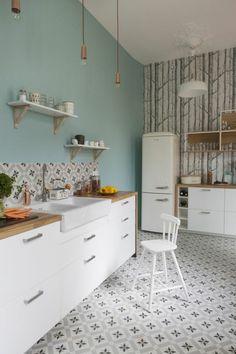Tapis Carreaux De Ciment Le TOP Sélection Shopping Tapis - Carrelage ancien cuisine 1930 pour idees de deco de cuisine
