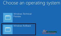 Sudah meng-upgrade ke Windows 10 dan ternyata tak suka dengannya? Kamu bisa kok balik ke sistem operasi yang lama dalam beberapa klik saja. Untuk memudahkan kamu yang awalnya menggunakan Windows 7 dan Windows 8.1 sebelum upgrade ke Windows 10, Microsoft memang mengijinkan kamu mengembalikan (rollback) instalasi Windows 10 ke sistem operasi sebelumnya dalam kurun waktu 30 hari setelah upgrade. Tak usah kuatir, kalau kelak kamu mau balik lagi (ke Windows 10), kamu masih bisa memanfaatkan…