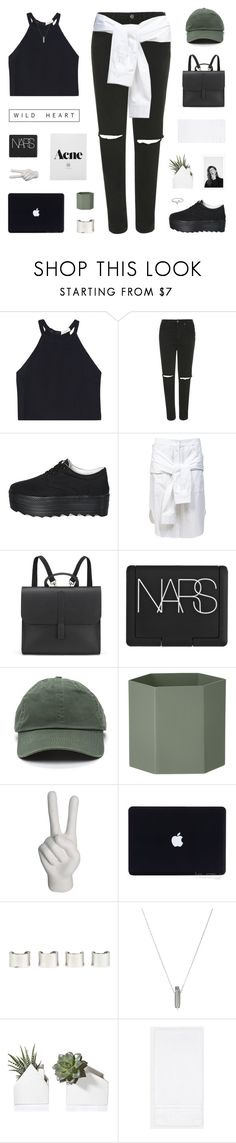 """//TOP SET 30.04.16 a n o t h e r d a y i n t h e c i t y//"" by lion-smile ❤ liked on Polyvore featuring A.L.C., Topshop, Pixie Pair, T By Alexander Wang, Danielle Foster, NARS Cosmetics, ferm LIVING, nOir, Maison Margiela and Maria Francesca Pepe"