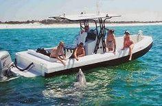 Panama City Beach, FL - Blue Dolphin Tours and swim with the wild dolphins! Destin Florida Vacation, Panama City Beach Florida, Florida Travel, Panama City Panama, Beach Honeymoon Destinations, Beach Vacations, Carillon Beach, Dolphin Tours, Pensacola Beach