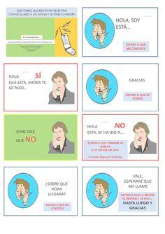 A1/A2- Tarjetas para hablar por teléfono.