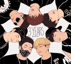 Happy 3rd anniversary to The Bangtan Boys. D'X <3 (This definitely isn't mine. Creds to owner asf.)