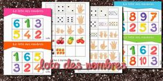 La maternelle de Laurène: le loto des nombres Number Writing Practice, Writing Numbers, Letters And Numbers, Preschool Math, Kindergarten Math, Activities For Kids, Bingo, Kids Workshop, Cycle 2