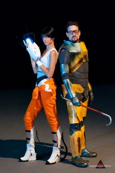 cosplay chell gordon freeman 4
