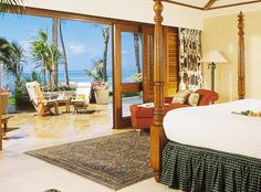 A room with a view... of the Indian Ocean-