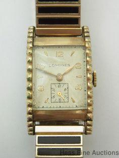 Mens Vintage Longines 17 Jewels Mens Wrist Watch #Longines