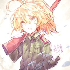 All Anime, Anime Art, Guerra Anime, Tanya Degurechaff, Tanya The Evil, Cute Anime Pics, Manga Games, Manga Girl, Fire Emblem