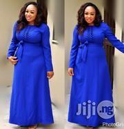 Blue Maxi Turkey Gown in Lagos Mainland Maxi Dresses, Dress Outfits, Fashion Dresses, Bridesmaid Dresses, Wedding Dresses, African Attire, African Dress, Blue Maxi, Maids